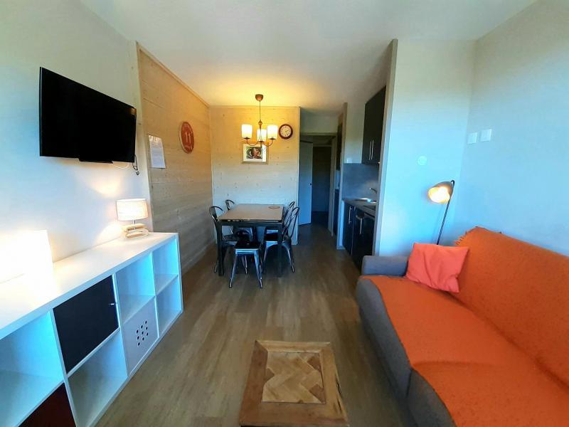 Location au ski Studio 4 personnes (414) - Résidence Themis - La Plagne - Banquette