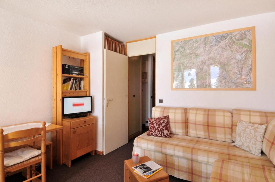 Аренда на лыжном курорте Апартаменты 2 комнат 5 чел. (05) - Résidence Turquoise - La Plagne