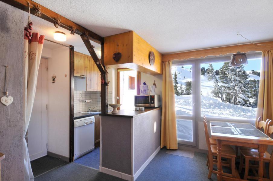 Location au ski Appartement 2 pièces 5 personnes (02) - Résidence Turquoise - La Plagne - Cuisine