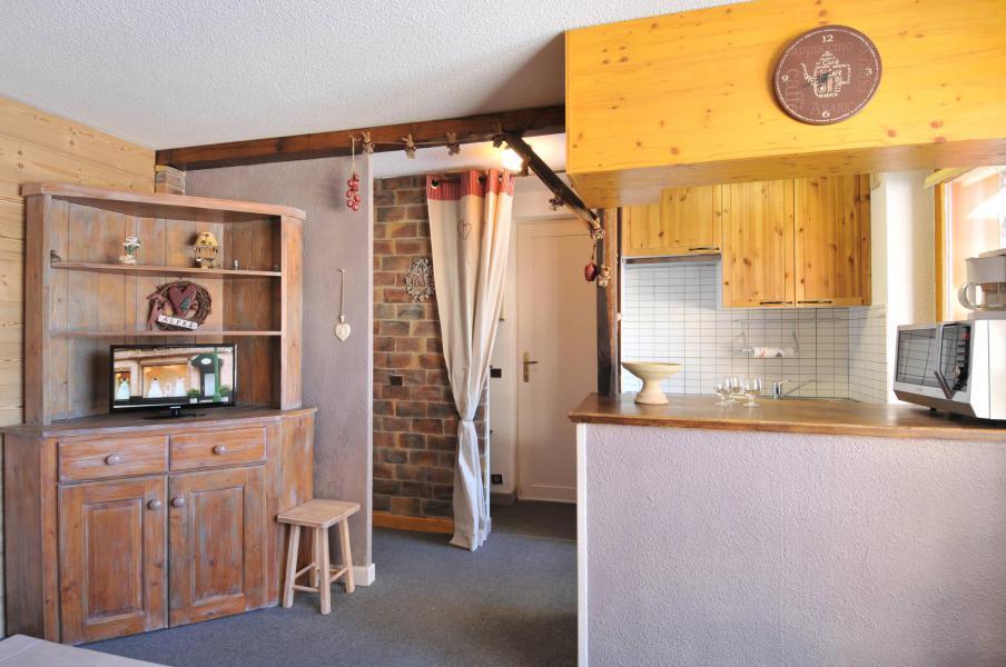 Location au ski Appartement 2 pièces 5 personnes (02) - Résidence Turquoise - La Plagne - Kitchenette