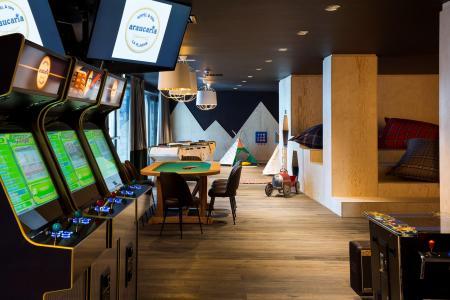 Rent in ski resort Araucaria Hôtel & Spa - La Plagne - Inside