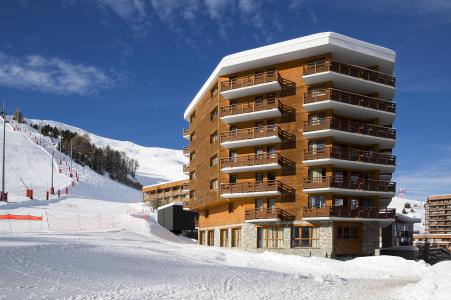 Rent in ski resort Araucaria Hôtel & Spa - La Plagne - Winter outside