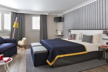 Rent in ski resort Araucaria Hôtel & Spa - La Plagne - Bed-settee for 1 person