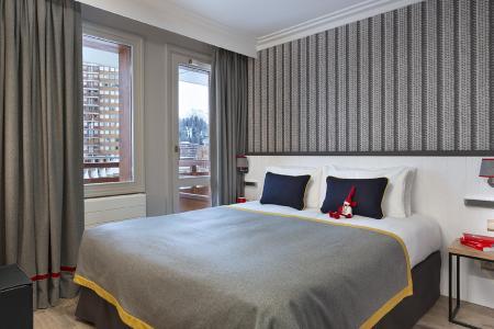 Rent in ski resort Araucaria Hôtel & Spa - La Plagne - Bedroom