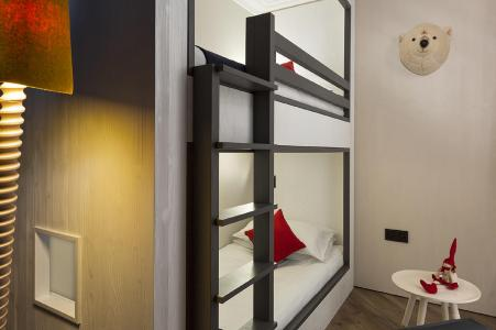 Rent in ski resort Araucaria Hôtel & Spa - La Plagne - Bunk beds