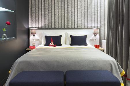 Rent in ski resort Araucaria Hôtel & Spa - La Plagne - Double bed