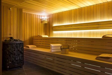 Rent in ski resort Araucaria Hôtel & Spa - La Plagne - Sauna