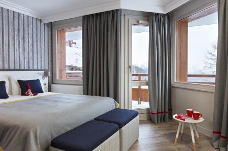 Rent in ski resort Araucaria Hôtel & Spa - La Plagne - Window