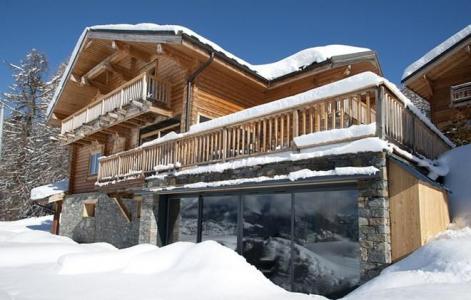 Rent in ski resort Chalet Mont Soleil - La Plagne - Winter outside
