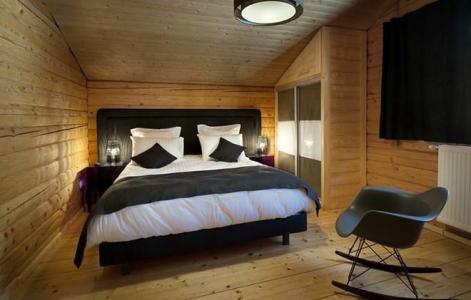 Rent in ski resort Chalet Mont Soleil - La Plagne - Double bed