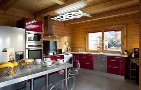 Rent in ski resort Chalet Mont Soleil - La Plagne - Open-plan kitchen