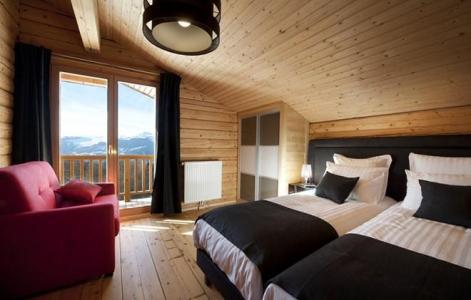 Rent in ski resort Chalet Mont Soleil - La Plagne - Single bed