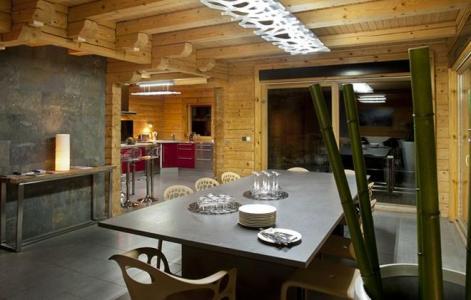 Rent in ski resort Chalet Mont Soleil - La Plagne - Table
