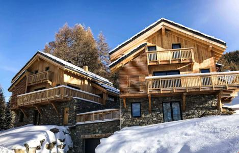 Аренда жилья La Plagne : Chalet Natural Lodge зима