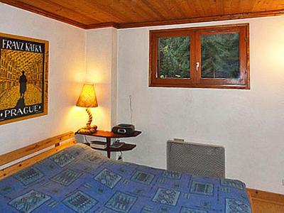 Rent in ski resort Chalet Peudral - La Plagne - Bedroom