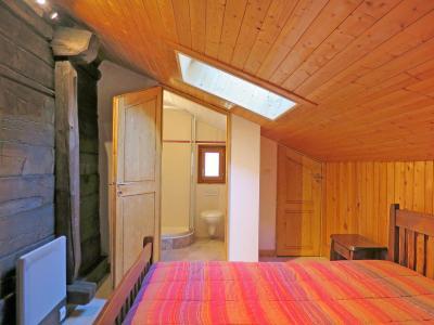 Rent in ski resort Chalet Peudral - La Plagne - Bedroom under mansard