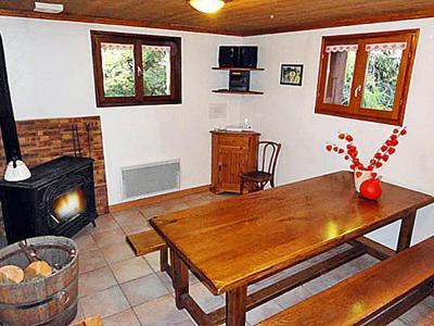 Rent in ski resort Chalet Peudral - La Plagne - Dining area