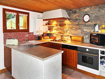 Rent in ski resort Chalet Peudral - La Plagne - Kitchen