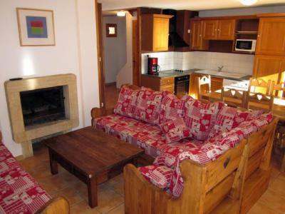 Rent in ski resort 5 room chalet 8 people (3) - Chalets des Alpages - La Plagne - Living room