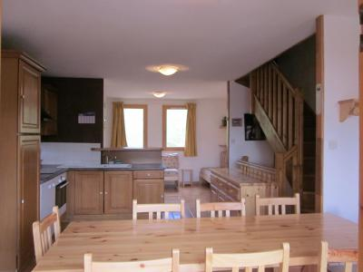 Rent in ski resort 6 room chalet 10 people (10) - Chalets des Alpages - La Plagne - Table