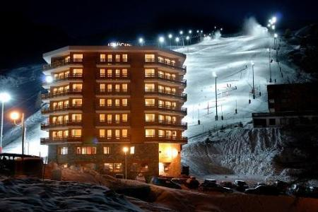 Location au ski Hotel Araucaria - La Plagne - Extérieur hiver