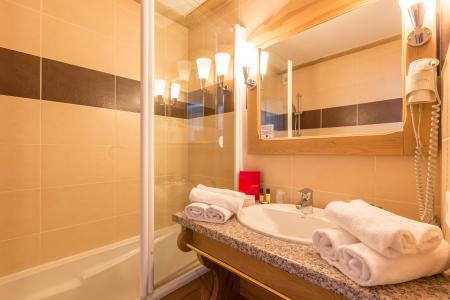 Location au ski Hôtel Vancouver - La Plagne - Baignoire