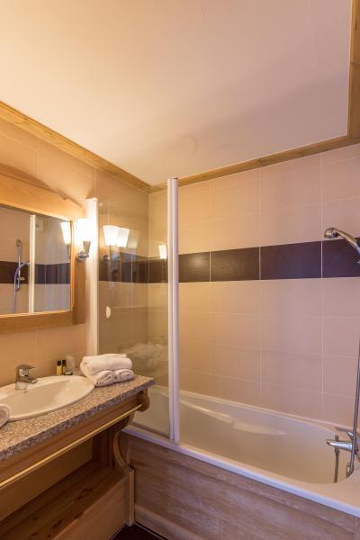 Location au ski Hôtel Vancouver - La Plagne - Salle de bains