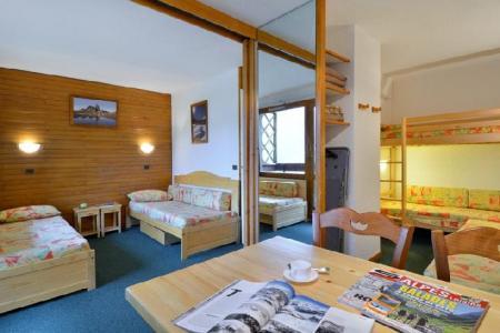 Location au ski Studio 4 personnes (305) - La Residence 3000 - La Plagne - Salle de bains