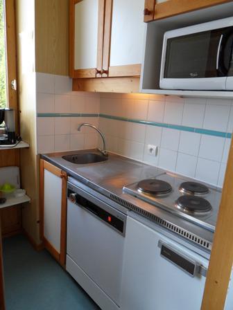Location au ski Studio 4 personnes (622) - La Residence 3000 - La Plagne - Kitchenette