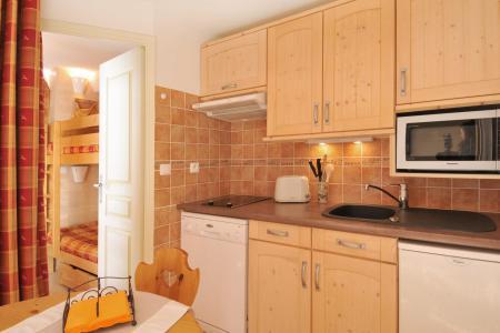 Location au ski Appartement 2 pièces cabine 5 personnes (421) - La Residence Aigue-Marine - La Plagne