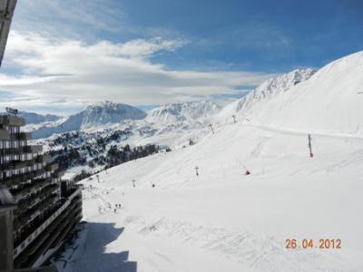 Holiday in mountain resort Studio 4 people (H31) - La Résidence Aime 2000 le Zénith - La Plagne - Winter outside