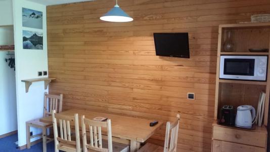 Аренда на лыжном курорте Апартаменты 2 комнат 5 чел. (02) - La Résidence Améthyste - La Plagne - Столова&