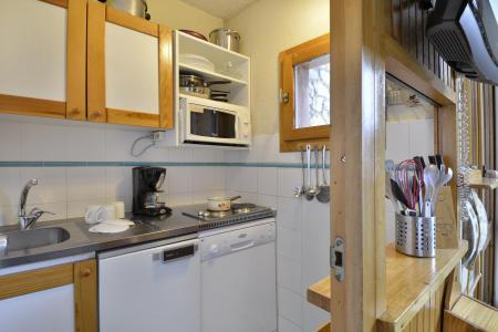 Аренда на лыжном курорте Квартира студия для 4 чел. (43) - La Résidence Améthyste - La Plagne - Кухня