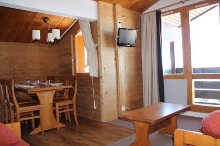 Аренда на лыжном курорте Апартаменты 3 комнат 7 чел. (504) - La Résidence Andromède - La Plagne - Столова&