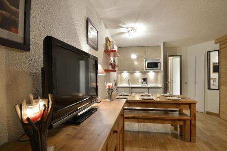 Аренда на лыжном курорте Апартаменты 3 комнат 6 чел. (105) - La Résidence Andromède - La Plagne