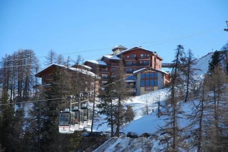 Location au ski Appartement 3 pièces 7 personnes (302) - La Résidence Aspen - La Plagne - Extérieur hiver