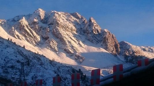 Аренда на лыжном курорте Квартира студия для 4 чел. (644) - La Résidence Béryl - La Plagne - зимой под открытым небом