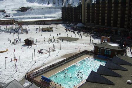 Аренда на лыжном курорте Квартира студия для 4 чел. (507) - La Résidence les Glaciers - La Plagne