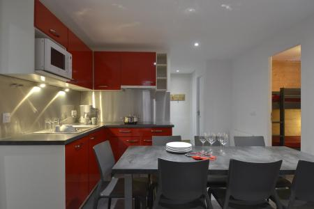 Аренда на лыжном курорте Апартаменты 4 комнат 8 чел. (703) - La Résidence St Jacques - La Plagne - Кухня