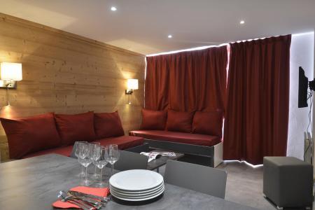 Аренда на лыжном курорте Апартаменты 4 комнат 8 чел. (703) - La Résidence St Jacques - La Plagne - Салон