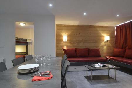 Аренда на лыжном курорте Апартаменты 4 комнат 8 чел. (703) - La Résidence St Jacques - La Plagne - Диван