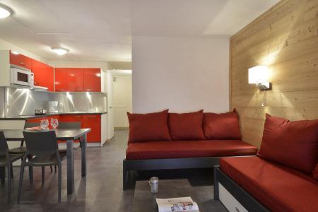 Аренда на лыжном курорте Апартаменты 2 комнат 5 чел. (603) - La Résidence St Jacques - La Plagne