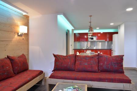 Аренда на лыжном курорте Апартаменты 5 комнат 11 чел. (417) - La Résidence St Jacques - La Plagne - Сиденье банкетка