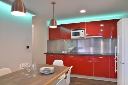 Аренда на лыжном курорте Апартаменты 5 комнат 11 чел. (417) - La Résidence St Jacques - La Plagne - Кухня