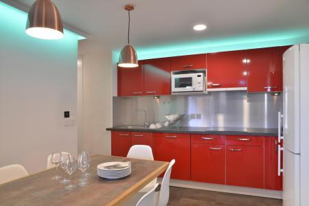 Аренда на лыжном курорте Апартаменты 5 комнат 11 чел. (417) - La Résidence St Jacques - La Plagne - Америка&