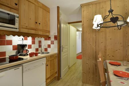 Аренда на лыжном курорте Апартаменты 2 комнат 5 чел. (322) - La Résidence Themis - La Plagne