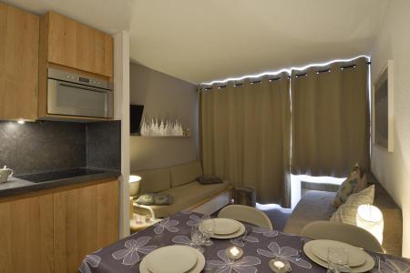 Аренда на лыжном курорте Апартаменты 2 комнат 5 чел. (509) - La Résidence Themis - La Plagne