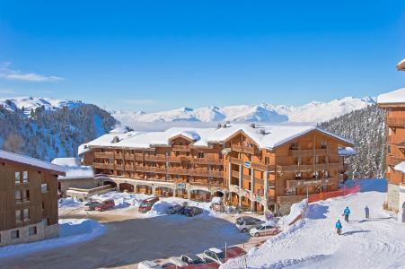 Location au ski Les Balcons de Belle Plagne - La Plagne - Extérieur hiver