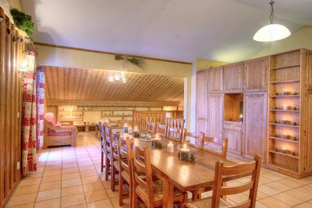 Rent in ski resort Les Balcons de Belle Plagne - La Plagne - Dining area