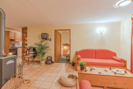 Rent in ski resort Les Balcons de Belle Plagne - La Plagne - Living area